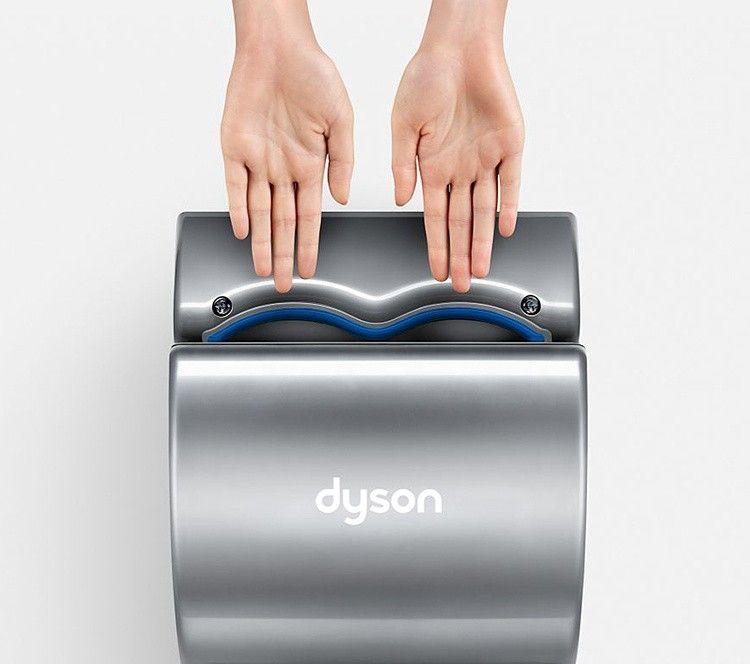 Сушилка для рук dyson airblade db ab14 цвет серый как разобрать дайсон dc 32