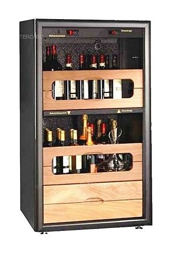 Винный шкаф Vinosafe VSA 721 S Vitiduo  pack Wine Grower